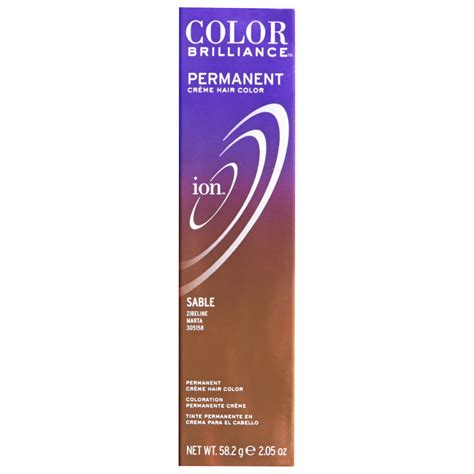 what color is sable hair color ion color brilliance sable dark brown hairs