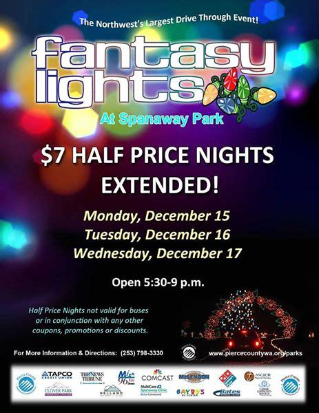 fantasy in lights coupon fantasy lights coupon and half off nights 2014