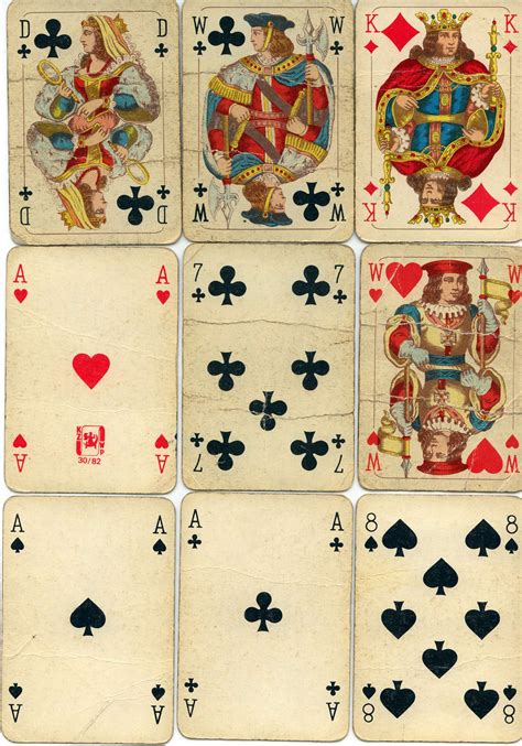 printable playing cards stock playing cards by maladie stock on deviantart