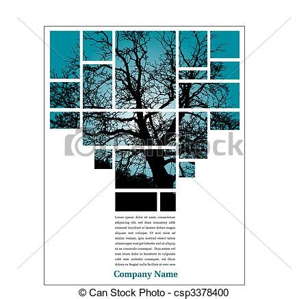 layout design francais vector clipart of tree page layout unique tree page