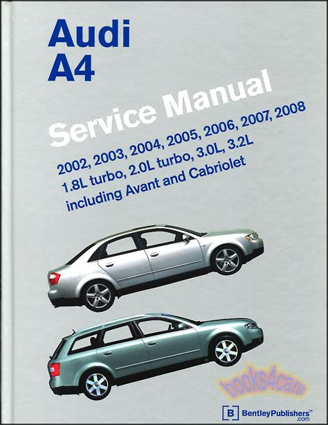 shop manual a4 service repair audi book bentley haynes chilton ebay