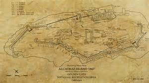Ipad Floor Plan App map of alcatraz island in 1867 digital art by sara harris