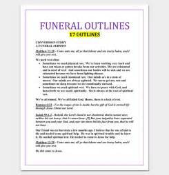 Sermon Template by Sermon Outline Template 12 For Word And Pdf Format