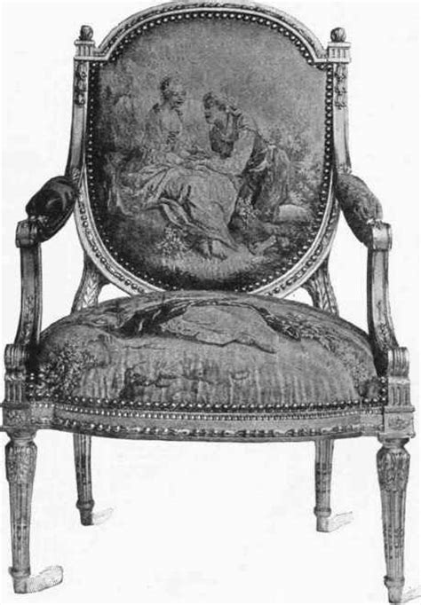Louis Xvi Armchair Louis Xvi The Revolution And The Empire