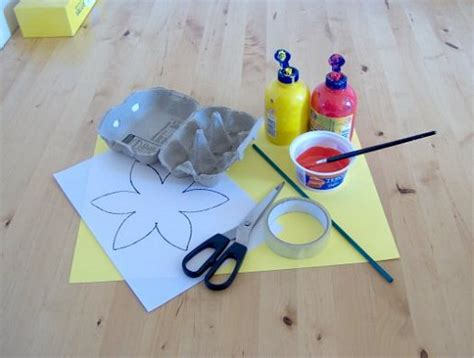 Using Paper To Make Things - paper toys for baby make a cardboard daffodil