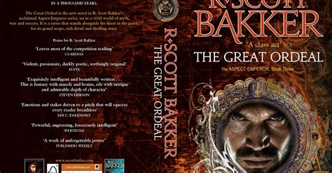 Pdf Great Ordeal Aspect Emperor Three Trilogy by The Wertzone R Bakker S Great Ordeal Released In Uk