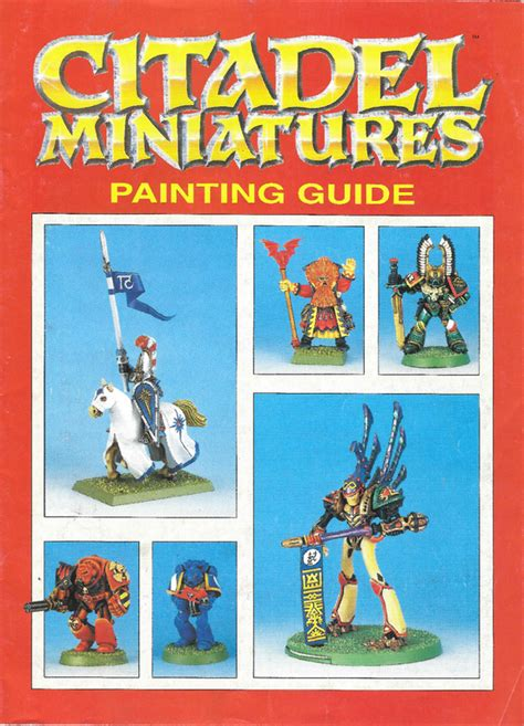 miniature painting guide citadel miniatures painting guide brochures and catalogs
