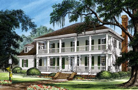 colonial country southern house plan colonial cottage country farmhouse southern traditional