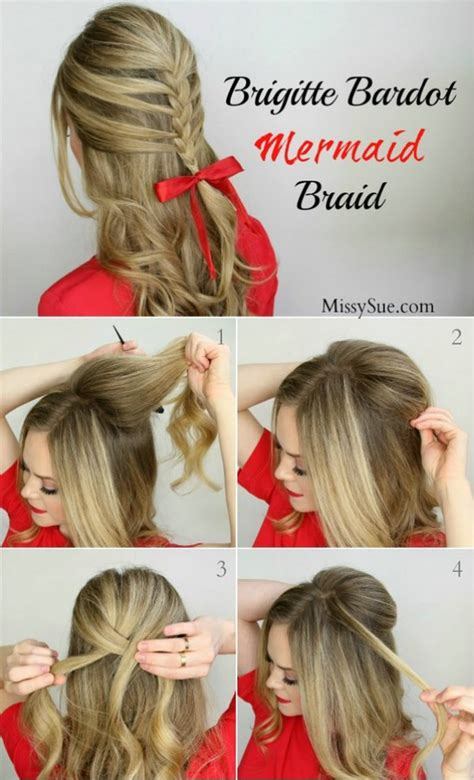 easy hairstyles christmas 12 super cute diy christmas hairstyles for all lengths