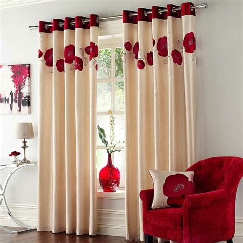 rote gardinen gardinenvorschl 228 ge was soll 252 ber die gardinen wissen