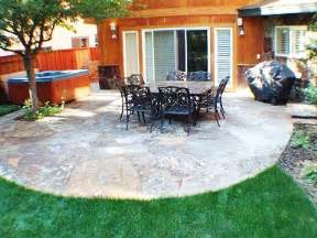 patio design ideas slate backyard patio ideas large and beautiful photos