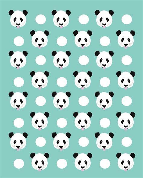 cute minimal pattern quot panda polka dots pattern print minimal trendy kids design