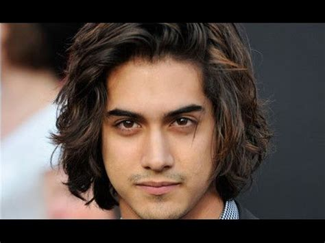 long hairstyles  men  thick wavy hair youtube