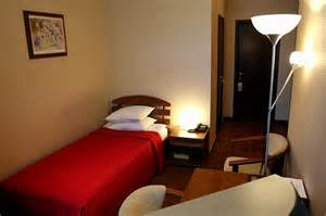 Standard single rooms at the columb hotel in st petersburg