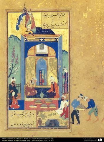 libro the miniaturist obras maestras de la miniatura persa la historia del profeta abraham p del libro bustan