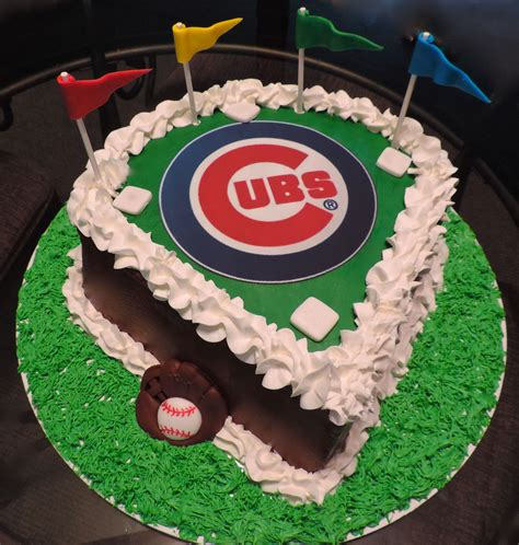 birthday cake order chicago chicago cubs cake my cakes confections