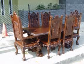 Old World Dining Room Furniture by Renaissance Architecture Custom Old World Furniture