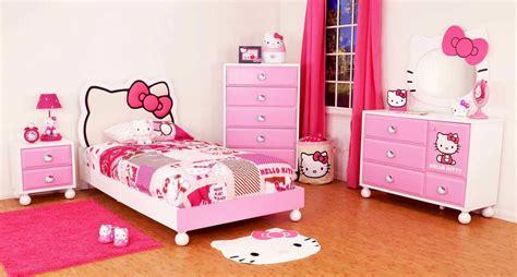 wallpaper hello kitty kamar anak contoh gambar desain kamar tidur anak perempuan gambar