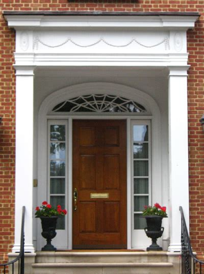 colonial style front doors most popular architectural styles part 1 doorshoppers