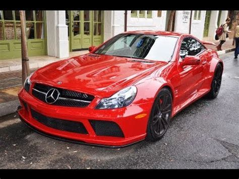 black and pink mercedes red mercedes sl65 amg black series youtube