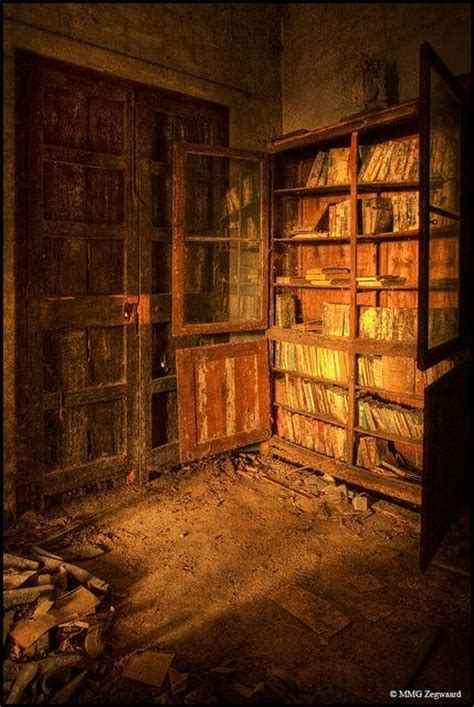 the abanonded books library abandoned