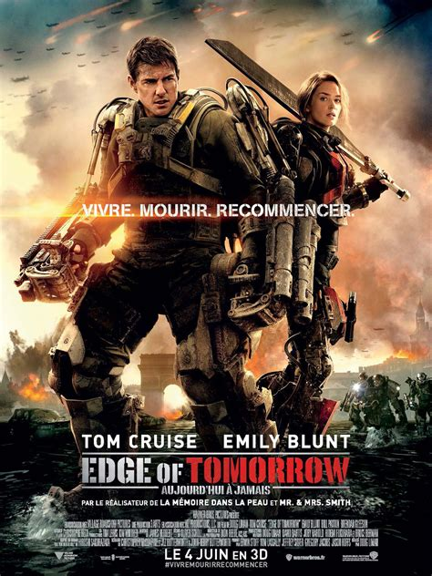 film streaming edge of tomorrow edge of tomorrow photos et affiches allocin 233