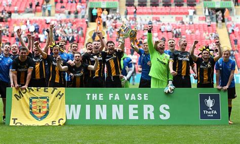 Fa Vase Finals by Morpeth Town Must Replay Fa Vase Fourth Tie Due To