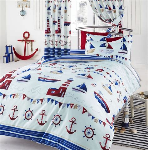 nautical bed sets nautical duvet cover set from century textiles