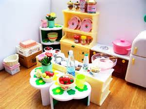Re ment calico critters kitchen cyristine flickr