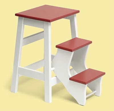 Fold Up Step Stool Kitchen by Fold Up Step Stool Create A Colorful Vintage Style