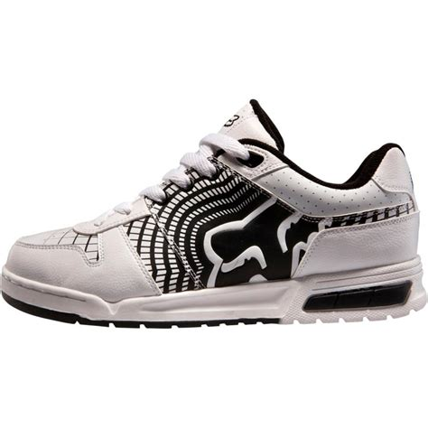 nwt fox racing addition s shoes white black assorted