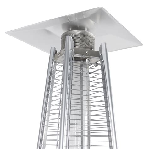 pyramid outdoor patio heater stainless steel patio heater outdoor pyramid propane glass