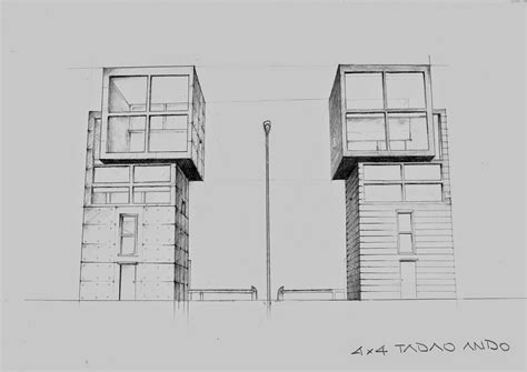 tadao ando 4x4 house plans tadao ando 4x4 house plans 4x4 house tadao ando plan elevation section tadao ando