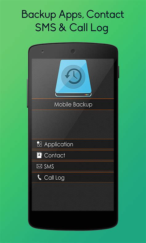 backup your mobile apk mobile backup sms and contact free apk android app android freeware