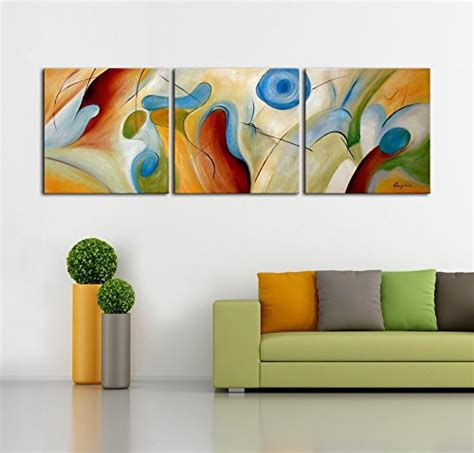 artland modern  hand painted abstract oil painting
