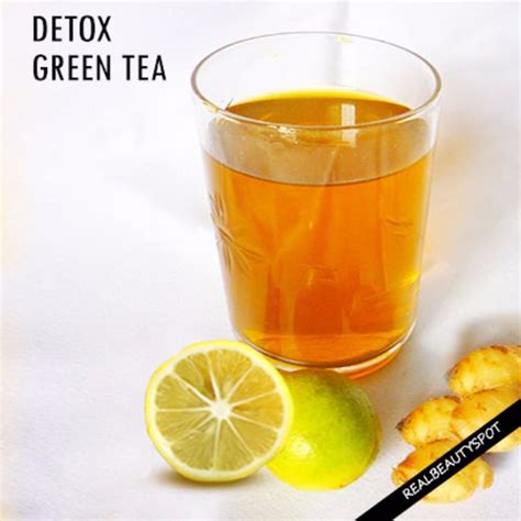 Green Tea Detox For by 38 Diy Detox Ideas