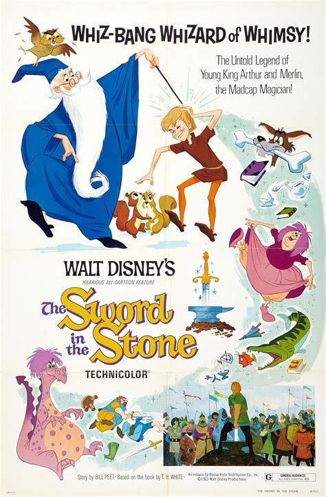 film disney cartoon the sword in the stone animated film review mysf reviews