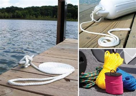boat launch rope marine boat pontoon rope line and cordage attwood marine