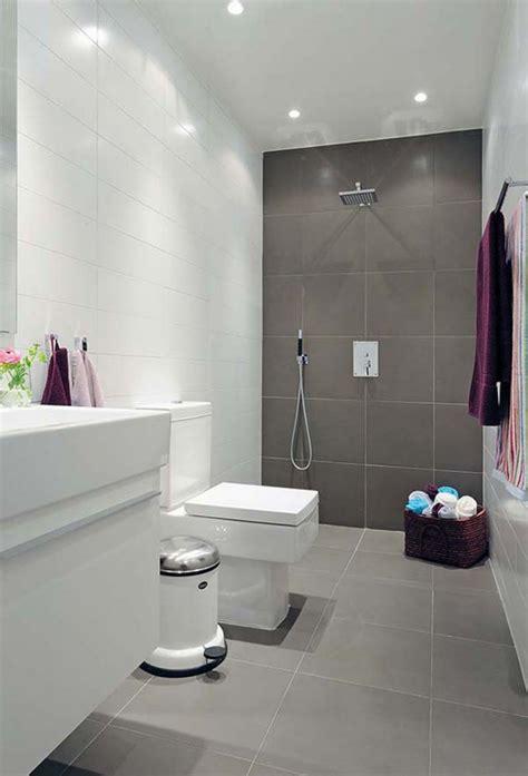 Modern Bathroom Wall by Modern Bathroom With Same Tile On Floor And Wall