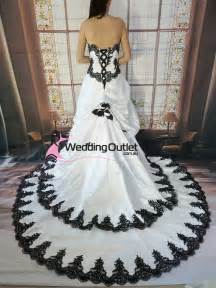wedding dresses that are black and white wedding dress shops