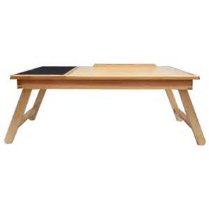 Laptop Bed Desk Tray Space Saver Solid Wood Laptop Bed Tray Multiuse Laptop Table Desk W Built In Mouse Pad Supports