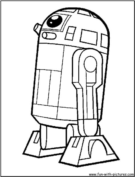 R2d2 Coloring Pages r2d2 coloring page r2d2