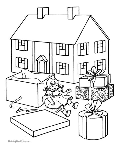 coloring pictures of a house house sheet to color 015