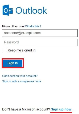 hotmail email account sign  hotmail login process hotmailcom