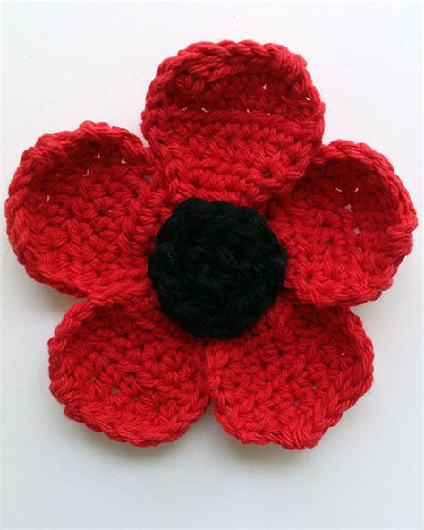 pattern crochet poppy free poppy crochet pattern manet for