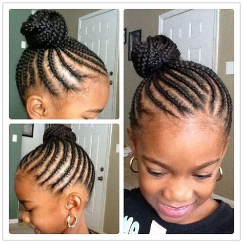 little kids hair braided into a bun 40 braids for kids 40 braid styles for girls