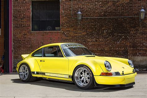 rwb porsche yellow 1987 porsche 911 just like china photo