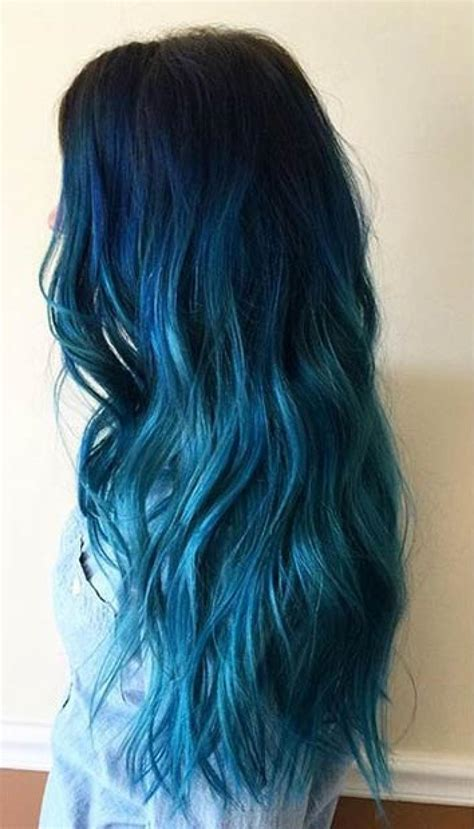 blue hair colors 25 insanely awesome ombre hair blue purple