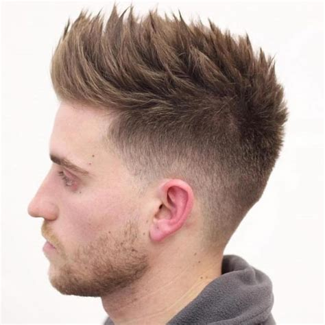 mens hair front flip slope fade haircut hairs picture gallery
