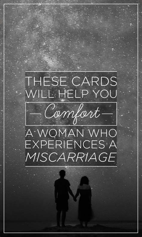 how to comfort miscarriage greeting cards to help comfort a woman who experienced